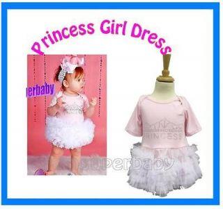 Sweet Baby Girl Pink Princess Bling rhinestone Party Frilly Tutu Dress