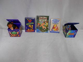 Lot 7~ 5 Disney Toys~Scar,Rolie Polie Olie,Tarzan,Winnie the Pooh