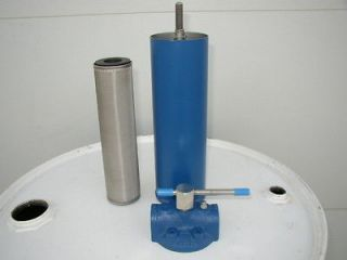 New 10 Micron Cleanable Waste Oil Filter for Pumps,Heater,Burner