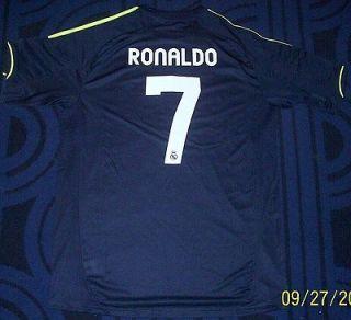 Real Madrid Futbol Mens Soccer Jersey NEW Sz. L Ronaldo ClimaCool