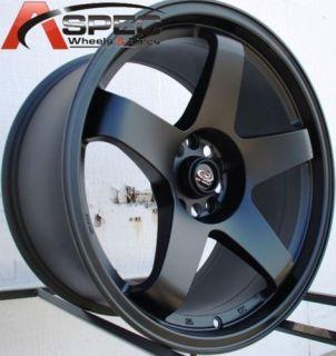18x9 5 rota p45r wheel rims 5x114 3 20mm flat