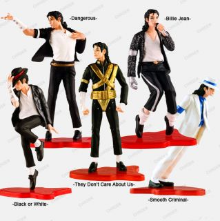 Michael Jackson King of Pop World Tour Best Memory Dance Move 5 Pack