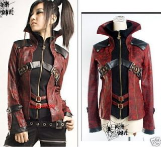 unisex kera visual punk coat jacket blazer y254br s to xxl