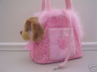 dog cat pet carriers totes purse pink fur bag chihuahua