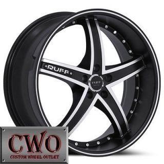 Newly listed 20 Black Ruff R953 Wheels Rims 5x120 5 Lug BMW 1 3 Series