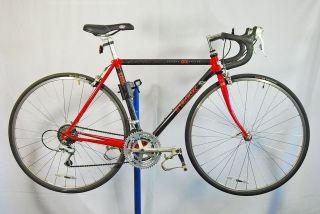 carbon fiber 2300 ZX road racing bicycle bike Red Shimano 105 49cm