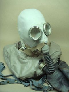 russian gray gas mask rebreather ip 5 from lithuania time