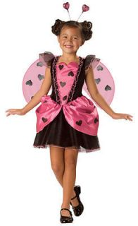 LOVE BUG Ladybug Childs Girls Halloween Costume Fancy Dress Up