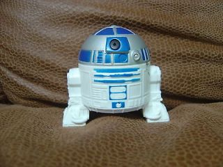 Burger King R2D2 Squirt Toy 2005 Revenge of the Sith Robot Figure Kids
