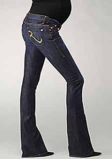 NWT Authentic Rock & Republic Tyler Maternity Jeans, Advent Approach