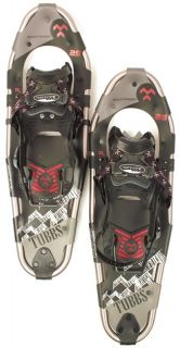 TUBBS MOUNTAINEER Mens Pair Snowshoes Snow Shoe 8 x 25 Black NEW