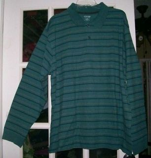 ST JOHNS BAY SIZE 2XL(XXL)BIG MENS LONGSLEEVE SUEDED JERSEY SHIRT