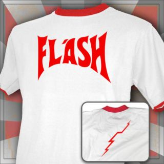 flash gordon t shirt queen freddie mercury retro 80s more