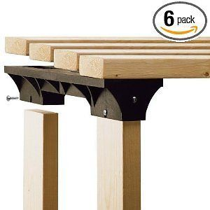 2x4basics shelflinks custom storage system black 6 pack time left