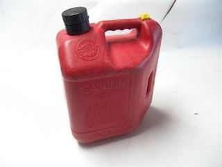 BLITZ Vented 2.5 Gal Plastic Gas Can w/Spout, Pre Ban Type