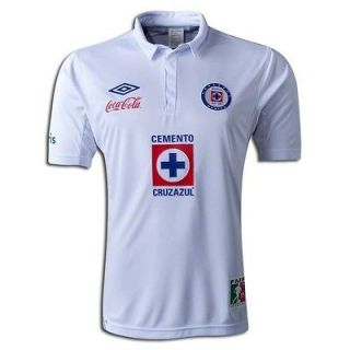 newly listed umbro cruz azul away jersey adult size large