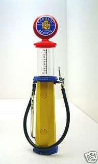 Cadillac early vintage style gravity feed GAS PUMP in orig pkg  mint