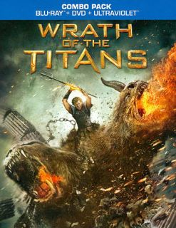 Wrath of the Titans Blu ray DVD, 2012, 2 Disc Set, Includes Digital