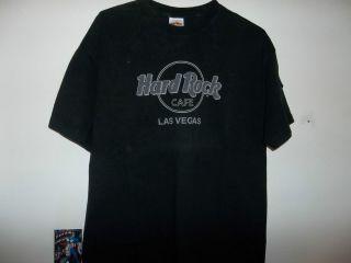 hard rock cafe las vegas t shirt xl time left