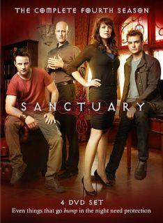 Sanctuary The Complete Fourth Season DVD, 2012, 4 Disc Set