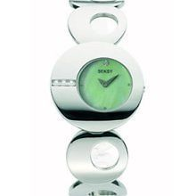 SEKONDA SEKSY ECLIPSE GREEN DIAL MOTHER OF PEARL WATCH 4798   BRAND