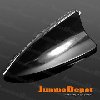 black shark fin style roof top mount aerial antenna base