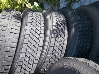 newly listed used semi truck tires 22 5 and 24