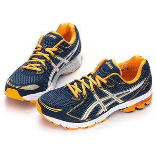 BN ASICS GT 2170 Running Shoes NAVY/WHITE/ORANGE + ASICS GIFT  #