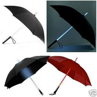 Lighted Umbrella Blade Runner Star Wars Light Saber Style Novelty Gift