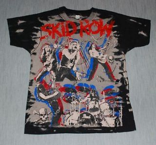 VINTAGE SKID ROW SHIRT in Clothing,