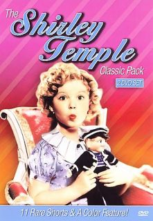 The Shirley Temple Classic Pack DVD, 2007, 2 Disc Set