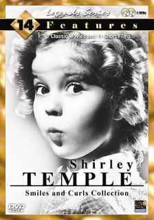 Shirley Temple   Smiles and Curls Collection DVD, 2008, 2 Disc Set