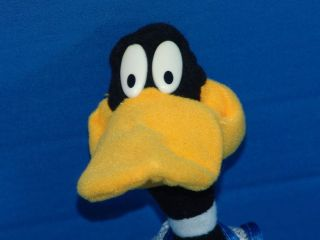 warner bros space jam daffy duck plush stuffed animal time