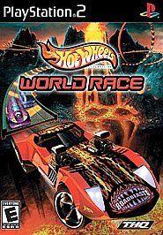 Hot Wheels Hotwheels World Race DISC WORKS Sony Playstation 2 PS2