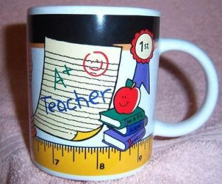 Porcelain Ceramic Mug Coffee Cup Collectable School Gift VGC