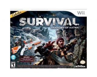 Cabelas Survival   Shadows of Katmai Game Top Shot Gun Wii, 2011