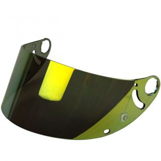 Shark Gold Tinted Mirror Visor for RSR 2 RSR2 RS2 RSX VZ32 Helmets