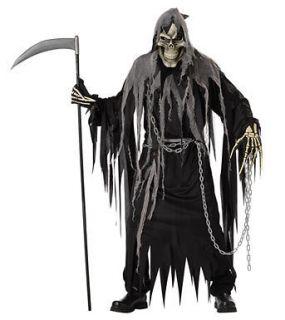 Mr. Grim Adult Mens Grim Reaper Halloween Costume