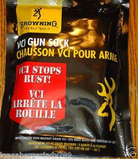 BROWNING VCI GUN RIFLE SHOTGUN SOCK CASE Vapor Corrosion Inhibitor