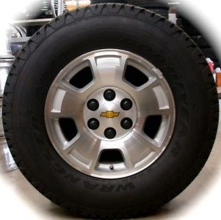 Silverado Tahoe Suburban Avalanche OEM 17 Wheels Rims Tires Sierra