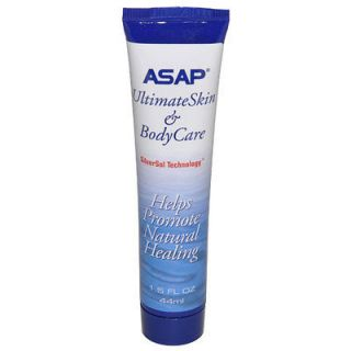 ASAP Silver Sol 1.5 oz Gel   Fights Bacteria & Virus   Helps Promote