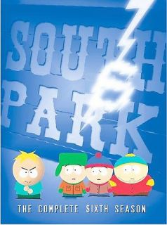 South Park   The Complete Sixth Season DVD, 2005, 3 Disc Set