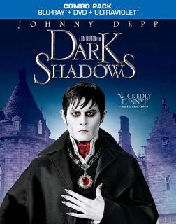 Dark Shadows Blu ray DVD, 2012, 2 Disc Set, Includes Digital Copy