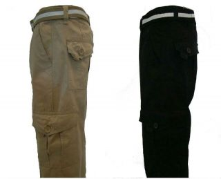 SOUTHPOLE SP Collection Mens Ripstop Cargo Long Pants 6 pocket NWT pic