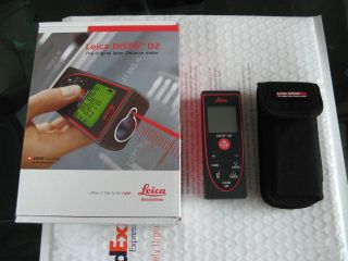 Leica disto d5 digital laser rangefinder with 2.4 inch screen and 45