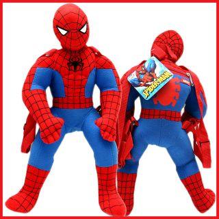 marvel spider man action plush doll backpack bag 18 one