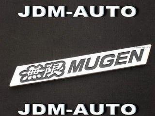 3D MUGEN Honda Front Lip Badge Emblem SI JDM VTEC Spoiler Gen 6 5 RR