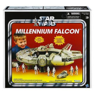 Star Wars 2012 TRU Exclusive VINTAGE MILLENNIUM FALCON New Sealed