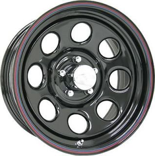 wheel 042 series black steel crawler wheel 17
