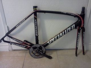 specialized tarmac pro sl bicycle frameset 54 c 2010 time